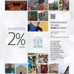 INVESTEȘTE 2%