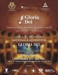 concert Gloria Dei invitatie B