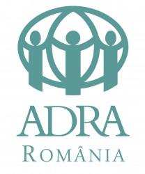 Sigla ADRA Romania - vertical STANDARD 100 mare
